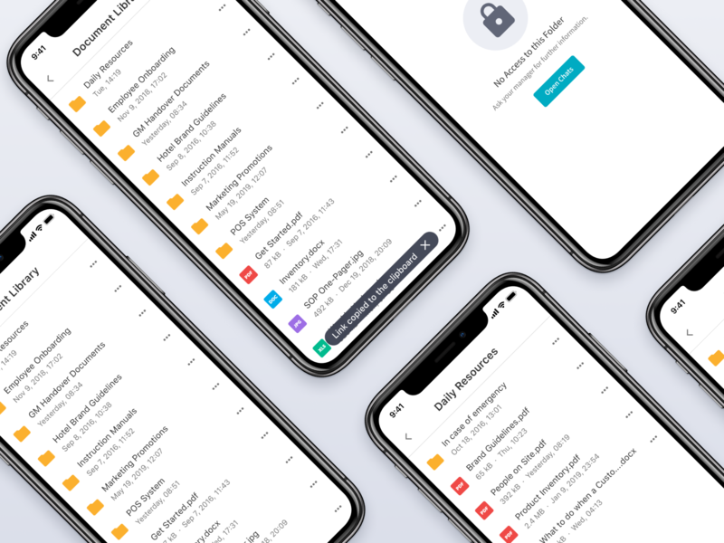 Documents iphone x figma error state mockups documents file manager uidesign uxdesign