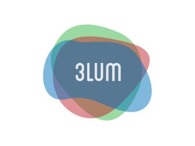 3LUM Logo type island beach rgb mexico tulum colors logo 3lum