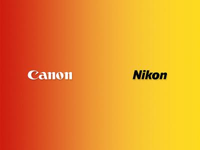 Canon vs Nikon nikon canon