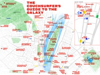 The Couchsurfes' Map