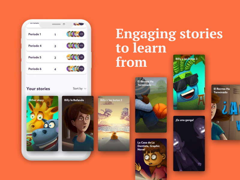 The Netflix for E-learning edtech webapp list video dashboard app design platform app branding agency ux ui