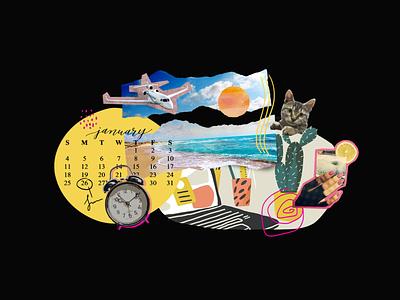 illustration for Remote Work illustration art remotework clean logo branding agency design illustration illustrator