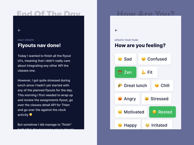 How are you? minimal flat update web productivity responsive typography icon mobile design empathy app ux ios ui beta daily marketing clean agency
