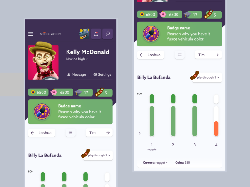 E-learning teacher environment teacher android ios vector progress app startup edtech e-learning agency design illustration mimimal clean ux uidesign