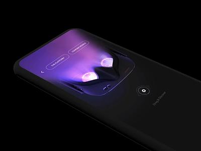 Quest apple retina color graphic design mobile app iphone ios ui ux