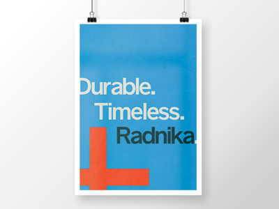 001 - Durable. Timeless. Radnika