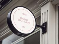 Sand Dollar Restaurant Logo Design