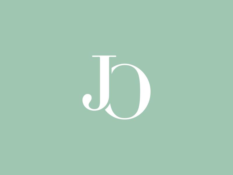 Jo Branding - Logo Pitch #1 vector boutique typography identity design logo startup branding identity branding
