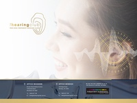 LANDING PAGE AUDIOLOGIST WEBSITE