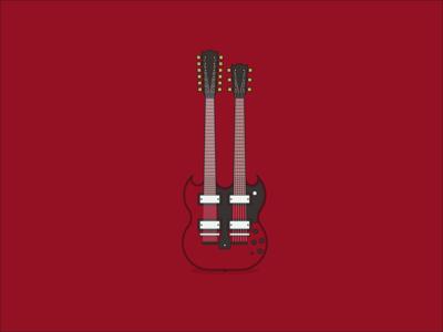Famous Guitars - Gibson EDS 1275
