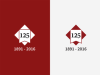 Stanford 125th Anniversary Logo