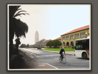 Photoblend for Stanford's 125th Anniversary