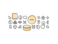 Screenless UI Concept Icons