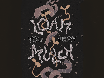 Loam You Very Mulch - Greeting Card
