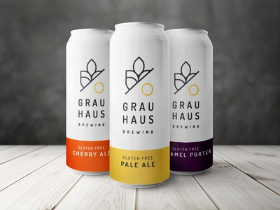 Grau Haus Brewery Can Concept