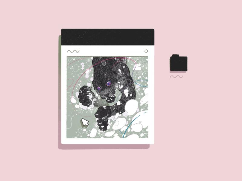 Mermay 2019 (wip) wip illustration mermay procreate leopard