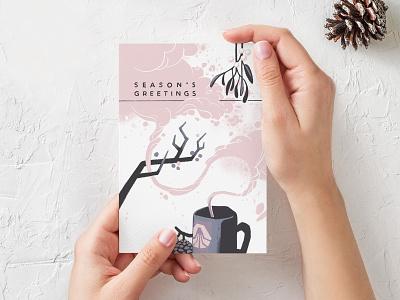 Skookum Holiday Card 2019 skookum procreate illustration holiday card