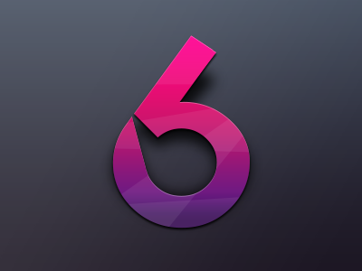 Logo 6 Six icon six 6 logo