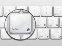 freebie - social keyboard