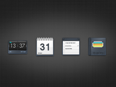 some icons of a set : alarm, calendar, task and gallery icon icons alarm agenda task gallery set icon set france calendar picture clock date task manager
