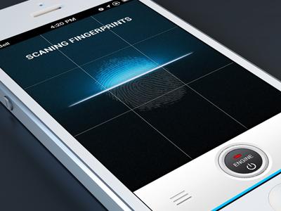 fingerprint innovative concept