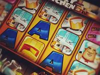 """Casinomatic"" iPad slot game"