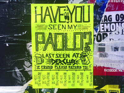 Have You Seen My Paolo?