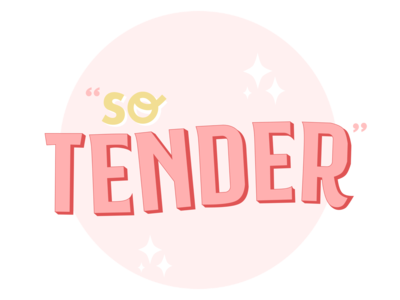 So Tender Sticker