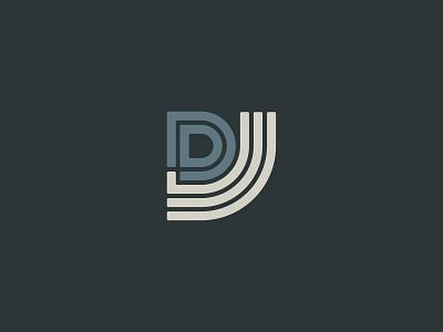 Jorel Dray Logo Mark single line weight minimalist logo minimal logodesign graphic design design branding logo mark logo design monoline monoline logo iconography icon lettermark monogram logo monogram typography vector branding design logo