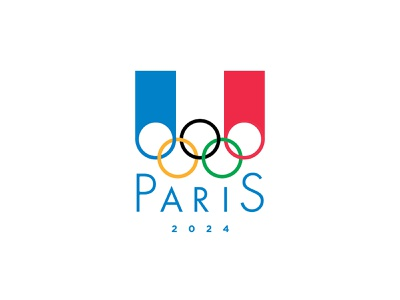 Paris 2024 Olympic Logo CONCEPT sports olympic concept logoconcept paris conceptual minimal flag french france graphic design branding design vector iconography branding icon logo olympics