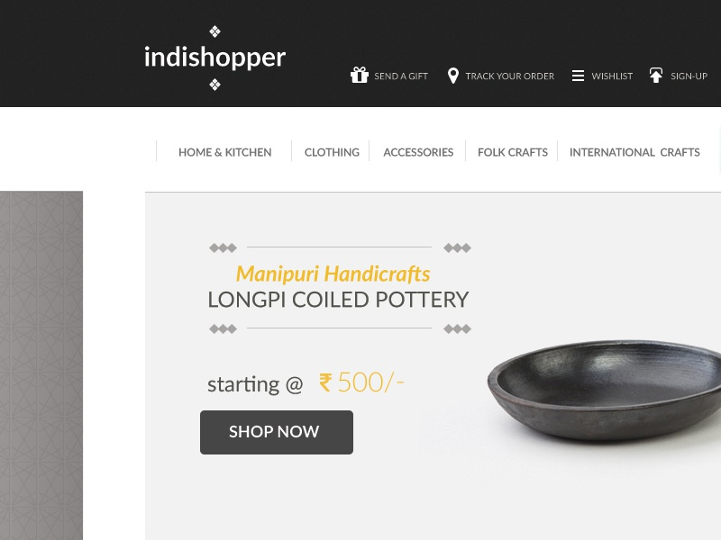 E Commerce For Handicrafts By Sharad Chauhan Dribbble Dribbble