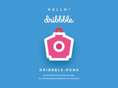 Dribbble Rune