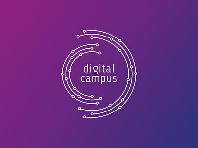 Digital Campus futuristic technology tech brand letter c letter d orbits campus digital design logodesign logotype visual identity graphic design logo design logo brand identity