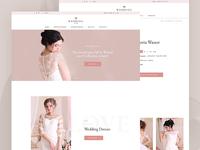 """""""Wedding Room"""" - online store"""
