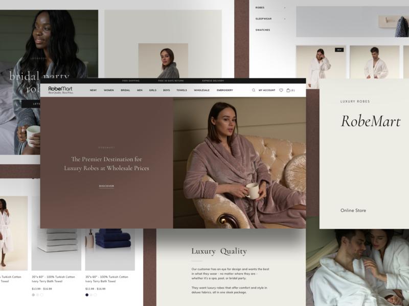 E-commerce site redesign