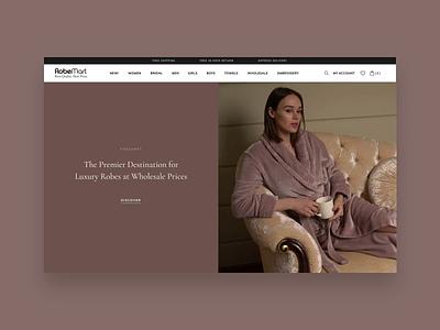 E-commerce site redesign collection fabrics wholesale luxury premium ecommence shop uiuxdesign uiux elegant design animation elegant homepage banner redesign design website web  design web e-commerce