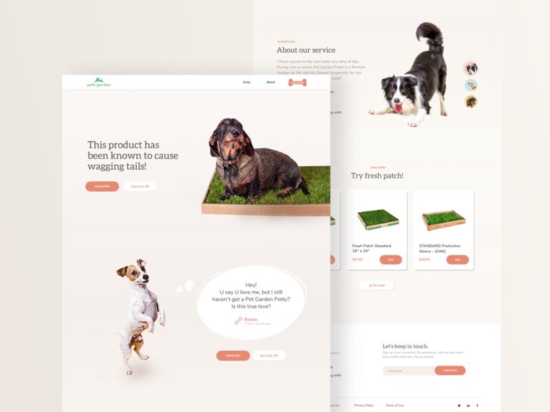 Pet's website