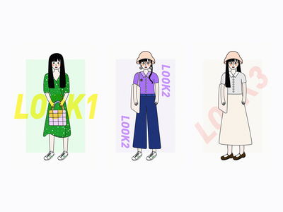 holiday outfits illustration