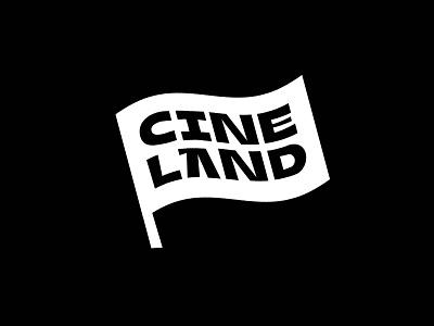 Cineland Cinema 📽 design lettering branding sofia typography bulgaria mark movie kino cinematic cinema logo designer logodesign logo mark logo