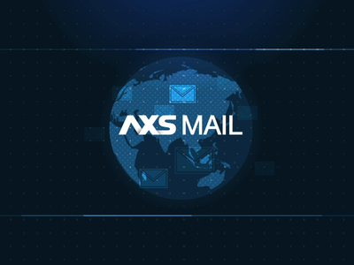 AXS MAIL ✉️ digital motion after effects app mailbox email mail tanker shipping ship