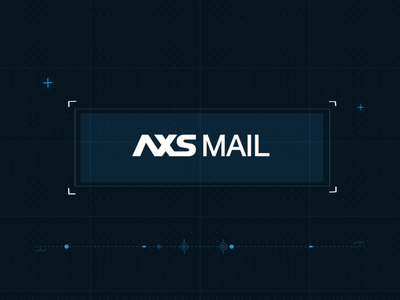 AXS MAIL ✉️ simple delivery ai ship shipping tanker mail email mailbox app after effects motion digital