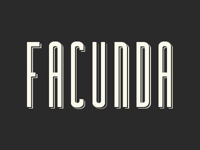 Facunda Free Font free font typeface typography font
