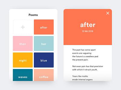 Colour palette poems colour palette ux ui flat design colours