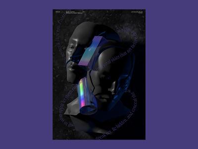 Silentium c4d cinema4d illustration плакат постер plakat poster