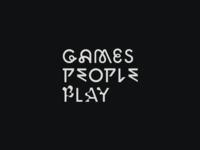 Games People Play. Book cover logo.