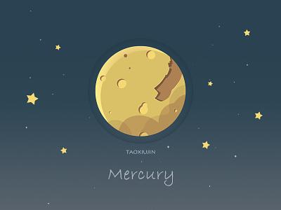 Mercury  space,planet,universe,