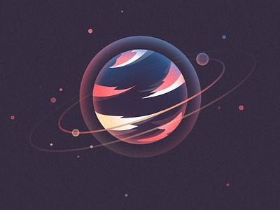 Planet-Saturn universe planets planet