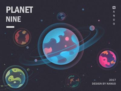 Planet universe tutorial space planet illustration design