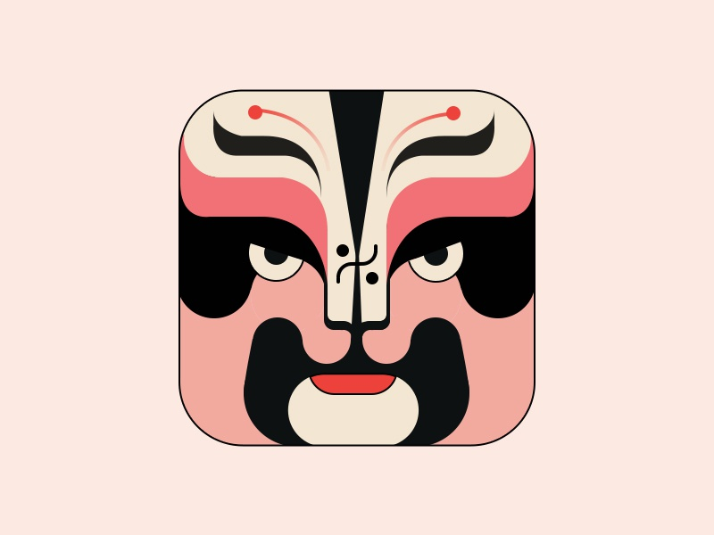 Mask traditional opera mask face chinese