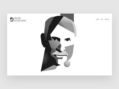 Daniël Roozendaal development website visual design